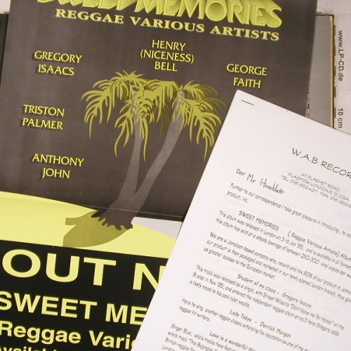 V.A.Sweet Memories: Reggae Various Artists,Facts,m-/vg+, Wab Rec.(WAB LP1), UK,Poster, 1995 - LP - X5544 - 9,00 Euro