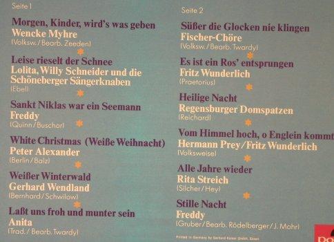 Freddy Präsentiert Die Schönsten Weihnachtslieder Großer Stars.Genre Weihnachten 3 4 Www Lpcd De Hamburg Altona Nord Record