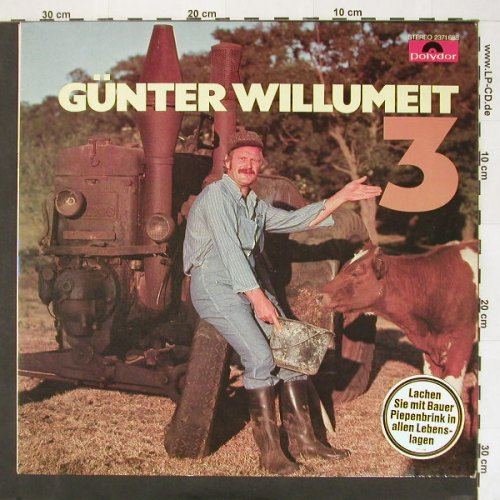 Willumeit,Günter: 3, Polydor(2371 688), D, 1976 - LP - B9832 - 3,00 Euro