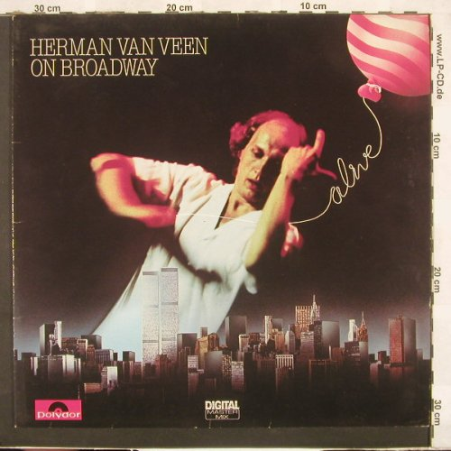 Van Veen,Herman: On Broadway, Polydor(810 984-1), D, 1983 - LP - C3941 - 5,00 Euro