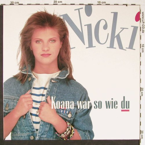 Nicki: Koana war so wie du*2+1, co, Piccobello/Virgin(611 971-213), D, 1988 - 12inch - E1071 - 2,50 Euro