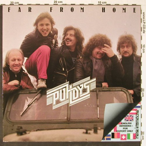 Puhdys: Far From Home-Export Only Cover, Hansa(203 982-320), D, 1981 - LP - E1184 - 5,00 Euro