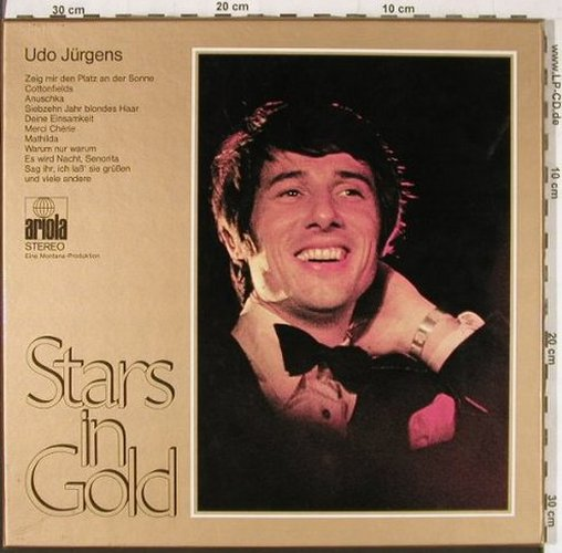 Jürgens,Udo: Stars In Gold,Box, +Poster, Ariola(86 030 XDT), D,  - 2LP - E4322 - 10,00 Euro