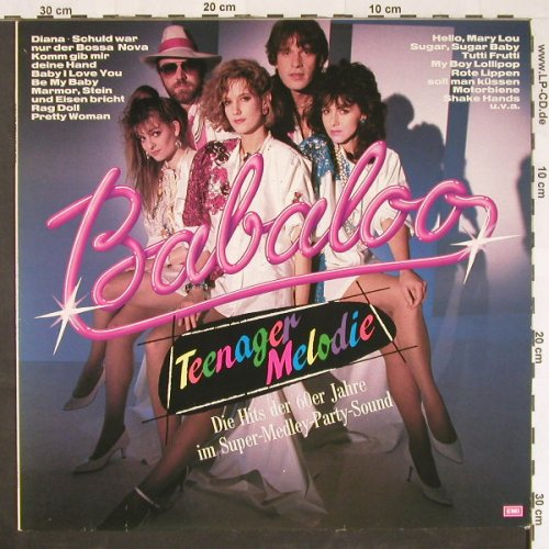 Babaloo: Teenagermelodie 60er Hits, EMI(26 0857 1), EEC, 1986 - LP - E873 - 5,00 Euro
