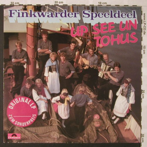 Finkwarder Speeldeel: Up See Un Tohus, Polydor(823 453-1), D, 1984 - LP - E9819 - 4,00 Euro