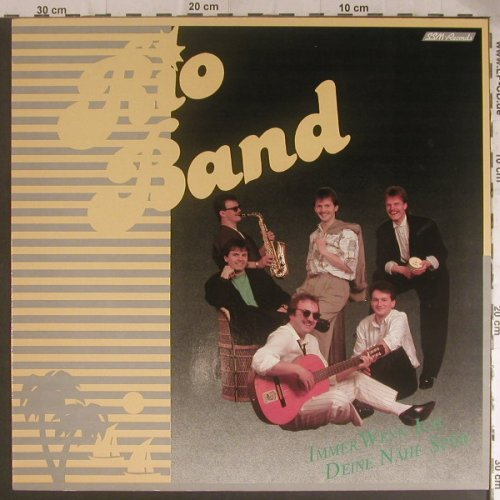 Rio Band: Same, SSM-Records(020 064-1), D, 1989 - LP - F5838 - 5,00 Euro