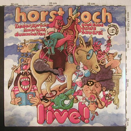Koch,Horst: Live, + Poster, Hansa / Der andere Song(25 466 IT), D, 1977 - LP - F6313 - 7,50 Euro