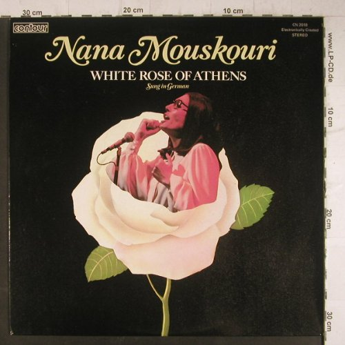 Mouskouri,Nana: White Rose Of Athens (in german), Pickw.Cont(CN 2018), UK,Ri,  - LP - F6512 - 5,00 Euro
