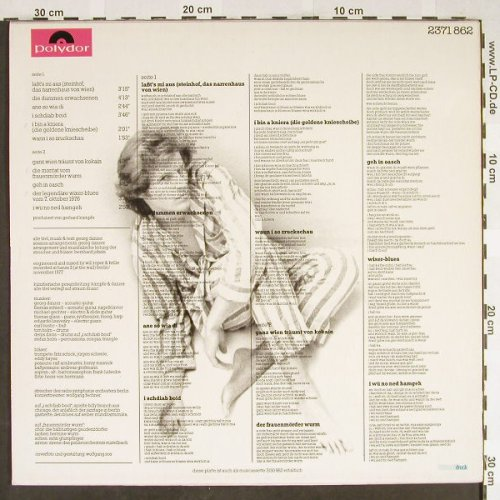 Danzer,Georg: Narrenhaus, Polydor(2371 862), A, 1978 - LP - H1949 - 5,50 Euro