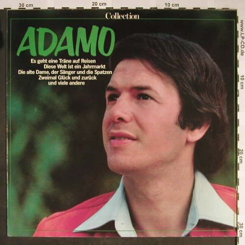 Adamo: Collection, EMI(028-46 263), D, Ri,  - LP - H2179 - 5,00 Euro