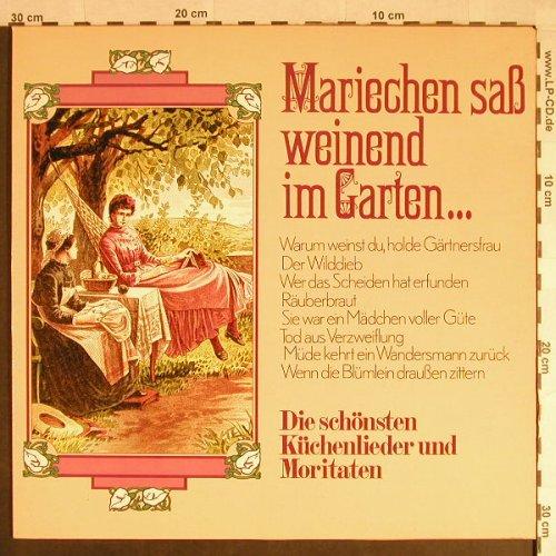 Küchenlieder Moritaten ~ lp deutsch s z (6 11) www lpcd de, hamburg altona nord, record mailorder