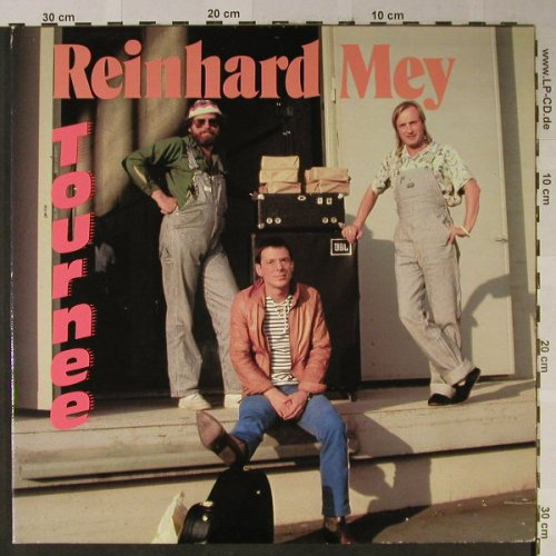 Mey,Reinhard: Tournee,Foc, Intercord(INT 180.062), D, 1981 - 2LP - H2486 - 9,00 Euro