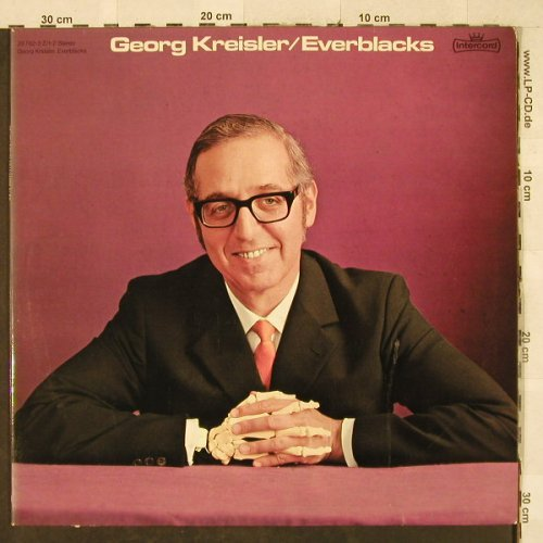 Kreisler,Georg: Everblacks,Foc, Intercord(28 762-3 Z/1-2), D,  - 2LP - H3303 - 20,00 Euro