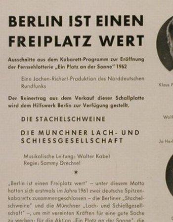 berlin kabarett die stachelschweine