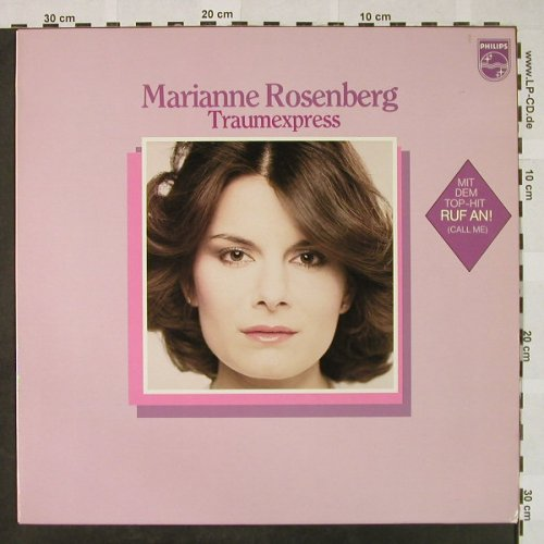 Rosenberg,Marianne: Traumexpress, Philips(6435 051), D, 1980 - LP - H4657 - 7,50 Euro