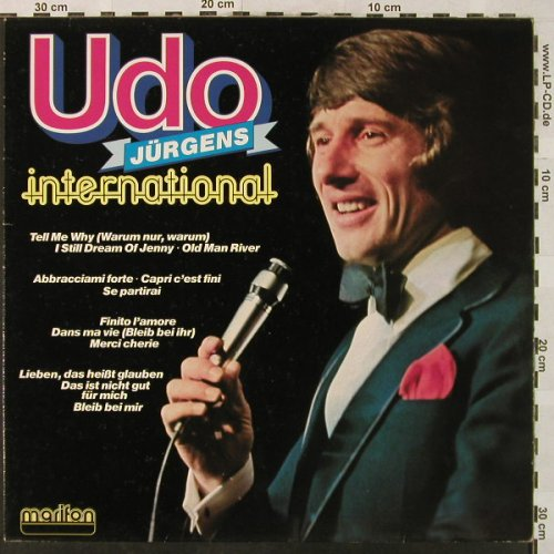 Jürgens,Udo: International, Marifon(47 950 XAU), D, 1980 - LP - H5036 - 7,50 Euro