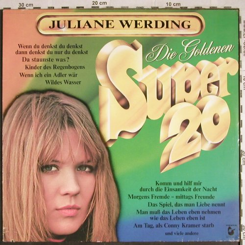 Werding,Juliane: Die Goldenen Super 20, Hansa(25214 XU), D, co,  - LP - H8270 - 3,00 Euro