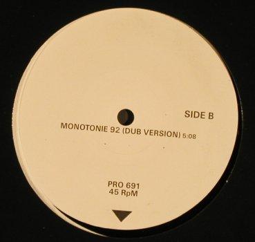 "Ideal: Monotonie 92 *2, 12"" Remix / Dub, WEA(PRO 691), Wh.Muster, 1992 - 12inch - H8420 - 9,00 Euro"