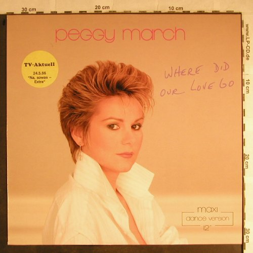 March,Peggy: Where Did Our Love Go*2+1, Ariola(608 182-213), D, 1986 - 12inch - H8729 - 4,00 Euro