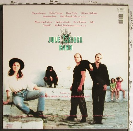 Neigel Band,Jule: Nur nach vorn, Intercord(), D, 1991 - LP - H8890 - 5,00 Euro