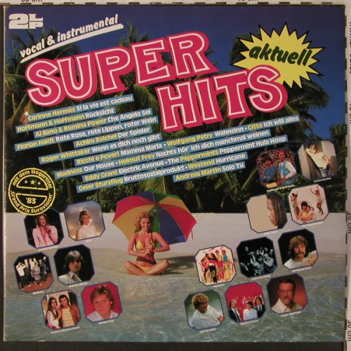 V.A.Super Hits aktuell-vocal/instr.: Corinne Hermes...Orch.Tony Anderson, SR(46 305 9), D, Foc, 1983 - 2LP - X2996 - 5,00 Euro
