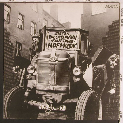Diestelmann Folk Blues,Stefan: Hofmusik, Amiga red(8 55 793), DDR, 1980 - LP - X3883 - 6,00 Euro