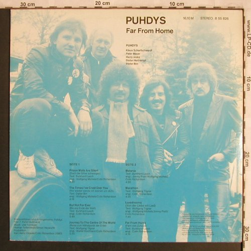 Puhdys: Far From Home, Amiga(8 55 826), DDR, 1981 - LP - X4211 - 5,50 Euro