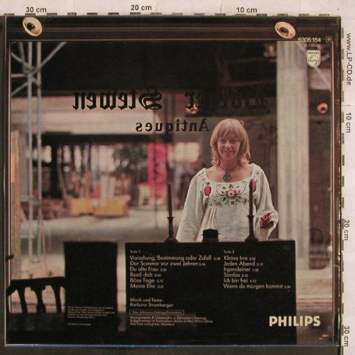 Stromberger,Barbara: Same, Philips(6305 154), D, 1972 - LP - X445 - 7,50 Euro