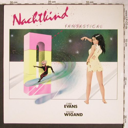 Nachtkind: Fantastical, Chris Evans,W.Wigand, Intercord(160.203), D, 1985 - LP - X4551 - 7,50 Euro
