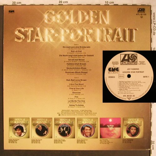 Fleming,Joy: Golden Star Portrait, Warenprobe, Atlantic(50 133), D, 1975 - LP - X4580 - 6,00 Euro