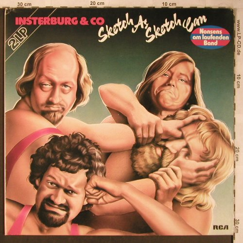 Insterburg & Co: Sketch As Sketch Can, Foc, RCA Extra(CL 28315), D, 1978 - 2LP - X5292 - 8,00 Euro
