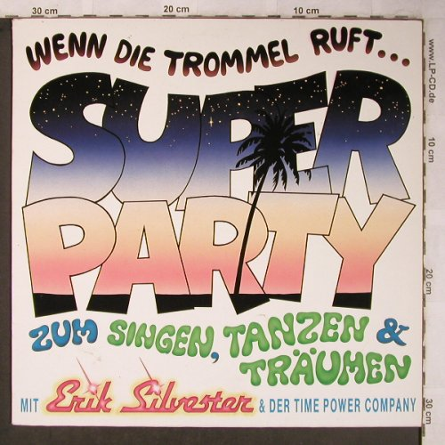 Silvester,Eric & Time Power Company: Wenn die Trommel ruft, time-power(786), D,  - LP - X5445 - 6,00 Euro