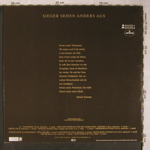 Morak: Sieger sehen anders aus, Polydo(810 373-1), A, 1984 - LP - X5772 - 7,50 Euro