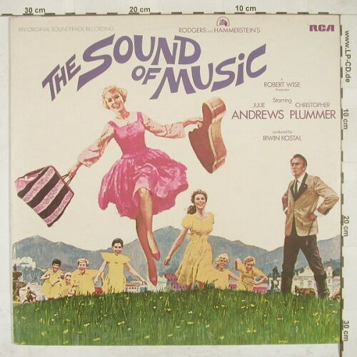 Sound of Musik: Soundtrack,Rodgers/Hammerstein, RCA red(SB 6616), UK, Ri, 65 - LP - A7892 - 5,50 Euro