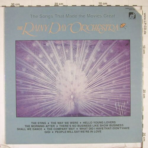 Rainy Day Orchestra: The Songs That Made The Movies Grea, Sunnyvale(9330-1006), US co, 1977 - LP - B1149 - 5,00 Euro