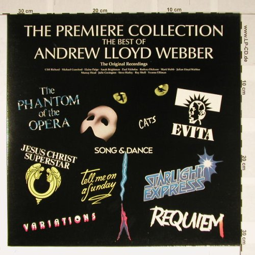Lloyd Webber,Andrew: The Premier Collection, Foc, Polydor(ALWTV1), D, 88 - LP - B2032 - 5,00 Euro