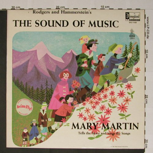 Martin,Mary - The Sound of Music: Tells the Story and sings t. Songs, Disney(DQ 1193), UK, 67 - LP - B5233 - 9,00 Euro