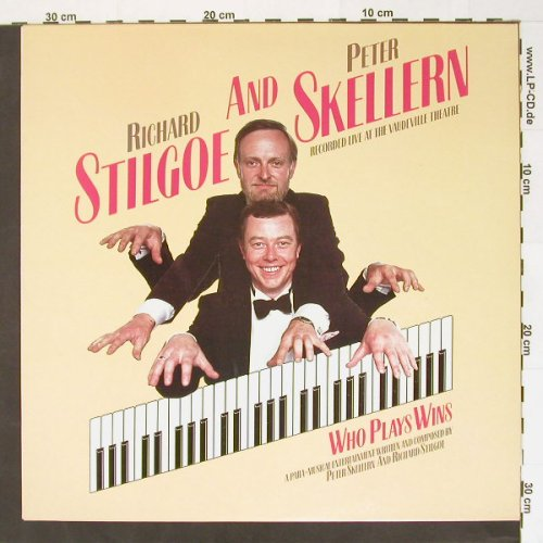 Stilgoe,Richard and Peter Skellern: Who Plays Wins(live), Safari(Scene 1), UK, 85 - LP - B8092 - 5,00 Euro