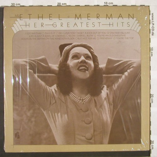 Merman,Ethel: Her Greatest Hits, Stanyan(SR 10070), US, 73 - LP - B9777 - 9,00 Euro