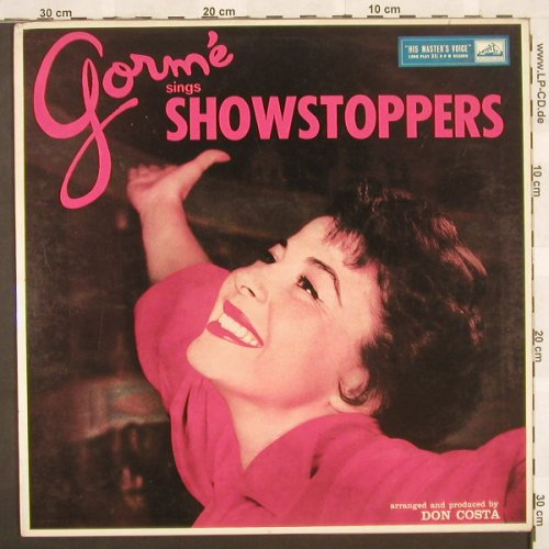 Gorme,Eydie: Sings Showstoppers, HMV(CLP 1257), UK,  - LP - B9861 - 9,00 Euro