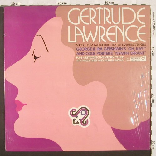 "Lawrence,Gertrude: Songs from ""Oh,Kay!""+""NymphErrant"", Monmouth(MES 7043), US,  - LP - B9862 - 9,00 Euro"