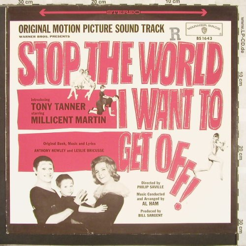 Stop The World, I Want To Get Off: Original Motion Picture Soundtrack, Warner(BS 1643), D,  - LP - C1806 - 9,00 Euro