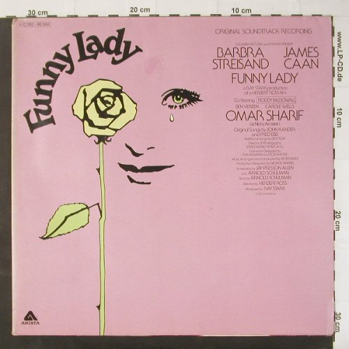 Funny Lady: Original OST,B.Streisand/James Caan, Arista(C 062-96394), D, m-/vg+, 1975 - LP - C2996 - 7,50 Euro