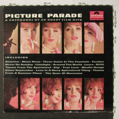 V.A.Picture Parade: A Potpourri of 28 great Film Hits, Polyd.(237 628), D,  - LP - C3294 - 6,00 Euro