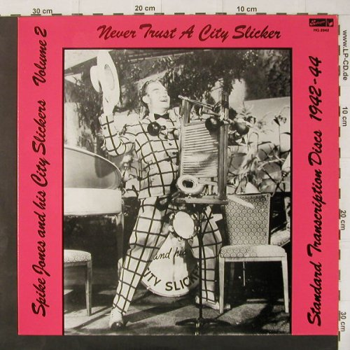 Jones,Spike & his City Slickers: Vol.2,stand.Discs'42-44, Harlequin(HQ 2042), US-Mono, 86 - LP - C4382 - 5,50 Euro