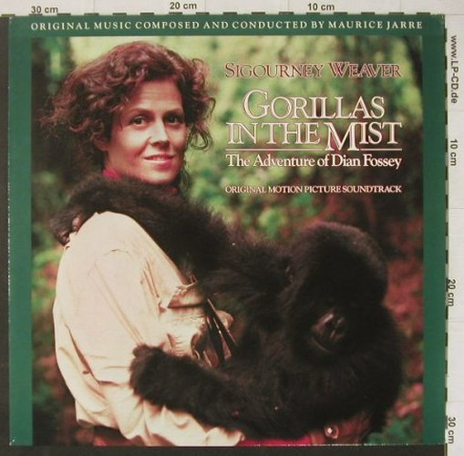 Gorillas In The Mist: Music by Maurice Jarre, MCA(256 174-1), D, 1988 - LP - C4450 - 4,00 Euro