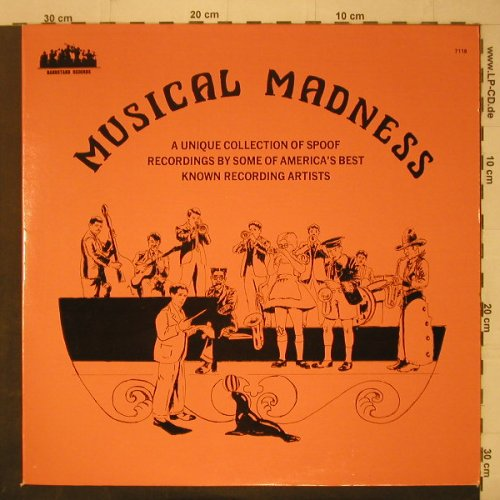 V.A.Musical Madness: 16 Tr., Bandstand(7118), US,  - LP - C7065 - 7,50 Euro