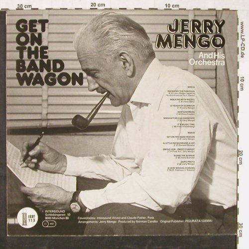 Mengo,Jerry  and his Orchestra: Get On The Band Wagon, Intersound(ISST 113), D,  - LP - E1747 - 6,00 Euro