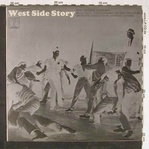 West Side Story: with George Chakiris, Saga(ERO 8106), UK, 1966 - LP - E2958 - 6,00 Euro