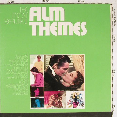 V.A.Film Themes,the most Beautiful: Love Story,Dr.Zhivago,Romeo.., WEA(66 018), D,  - 2LP - E3426 - 6,50 Euro